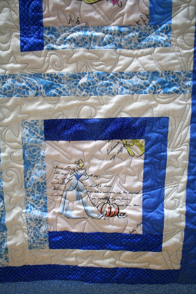 Princess Quilt (close up)