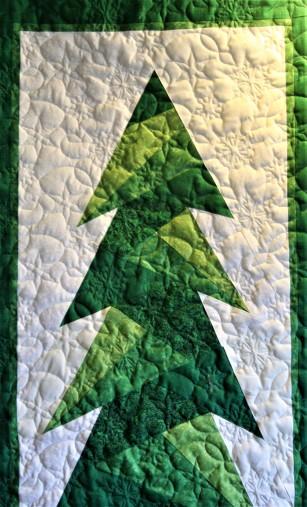 Christmas Tree Wall Hanging (close up)