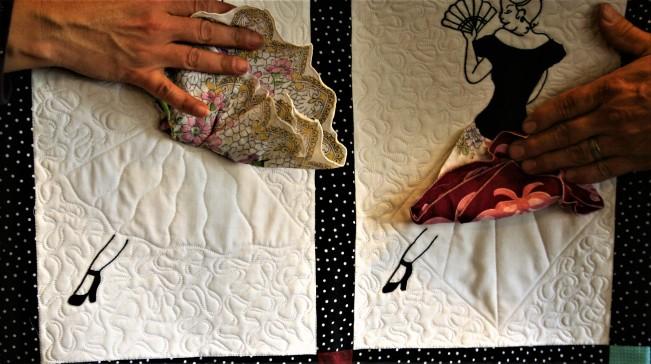 Handkerchief Dancers (close up #2)