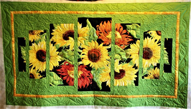 Sunflower Wall Hanging (front)