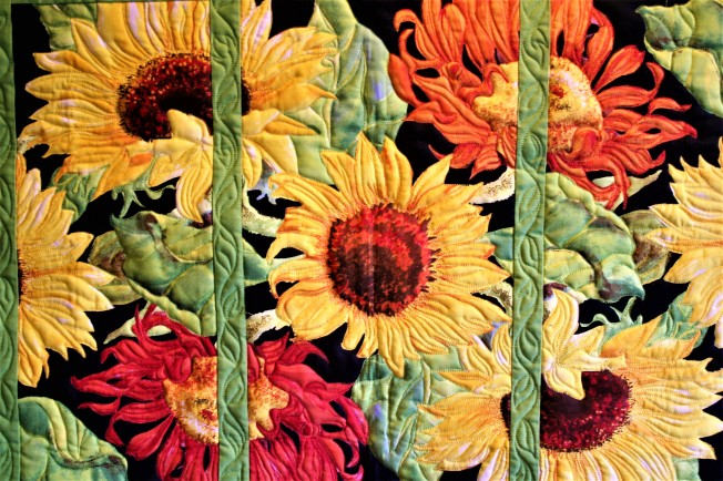 Sunflower Wall Hanging (close up)