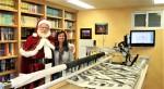 Santa Visits IdealStitches