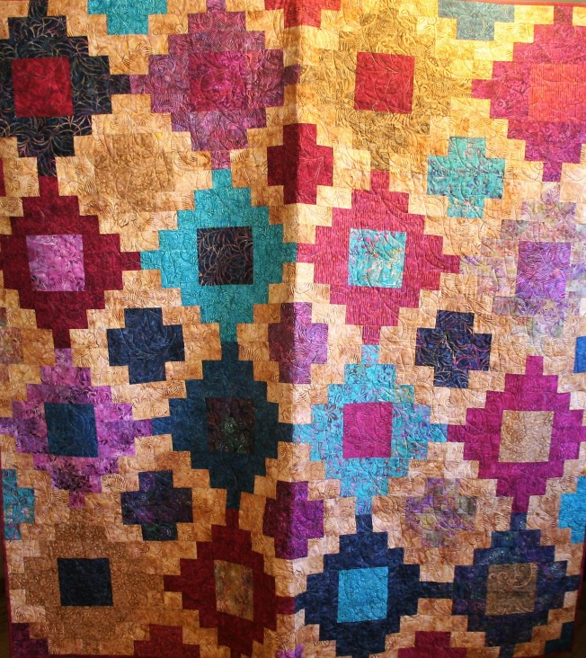 Stacked Batiks (front)