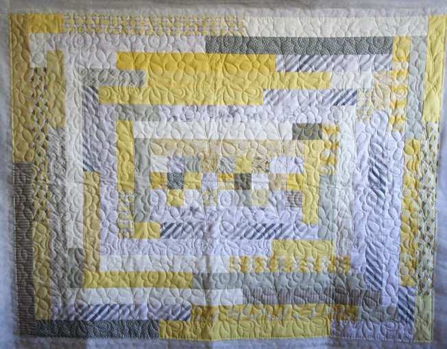 Yellow Bee Happy (front)