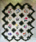 Applique Flower Garden