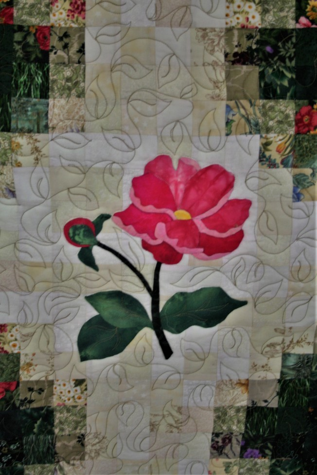 Applique Flower Garden (close up  7)