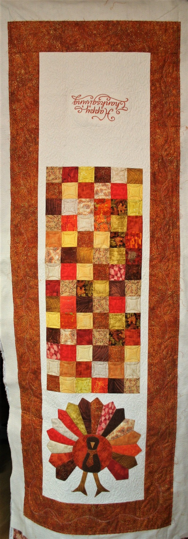 Turkey Tablerunner (front)