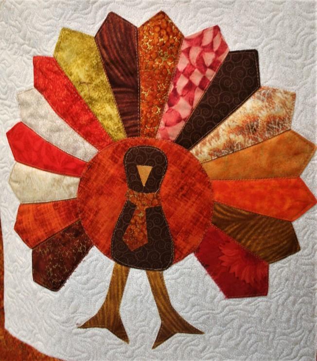 Turkey Tablerunner (close up 3)