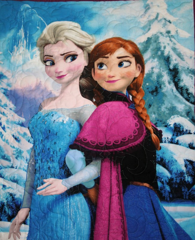 Frozen Sisters (close up)