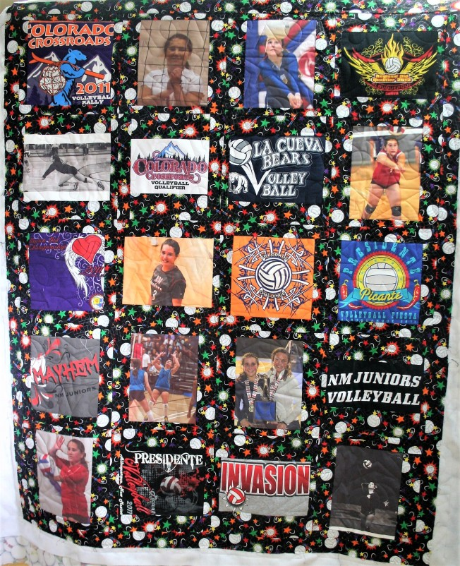 Volleyball Quilt