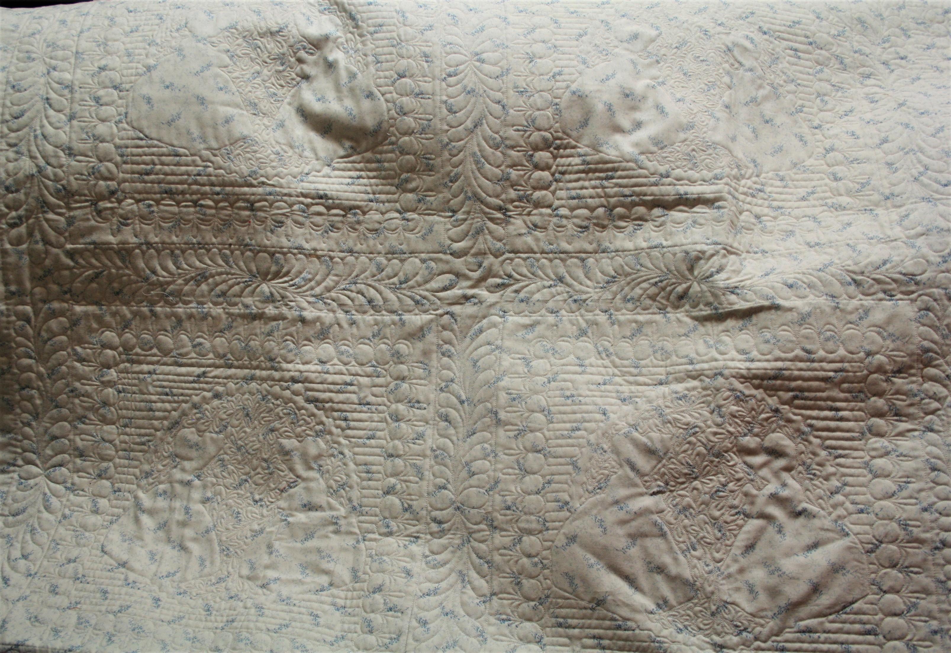 Cross Stitch Sunbonnet Sue (back)