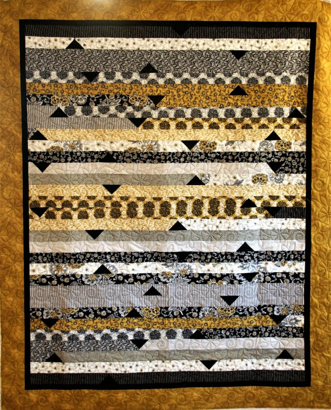 Black and Gold Jelly Roll (front)