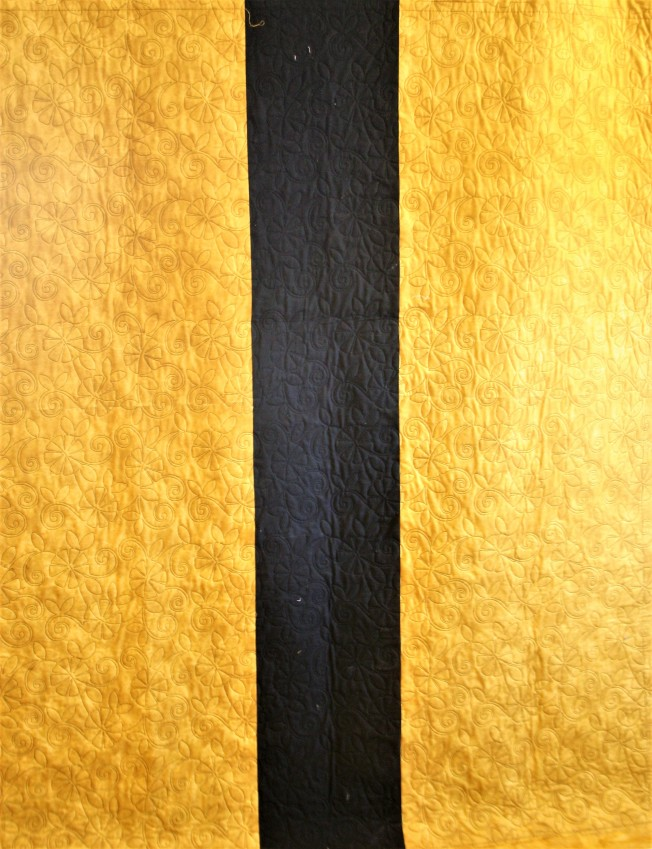 Black and Gold Jelly Roll (back)