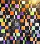 Scrappy Halloween Quilt