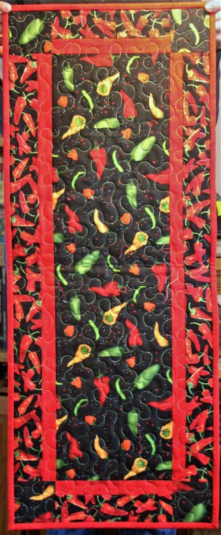 New Mexico Chili Tablerunner (front)