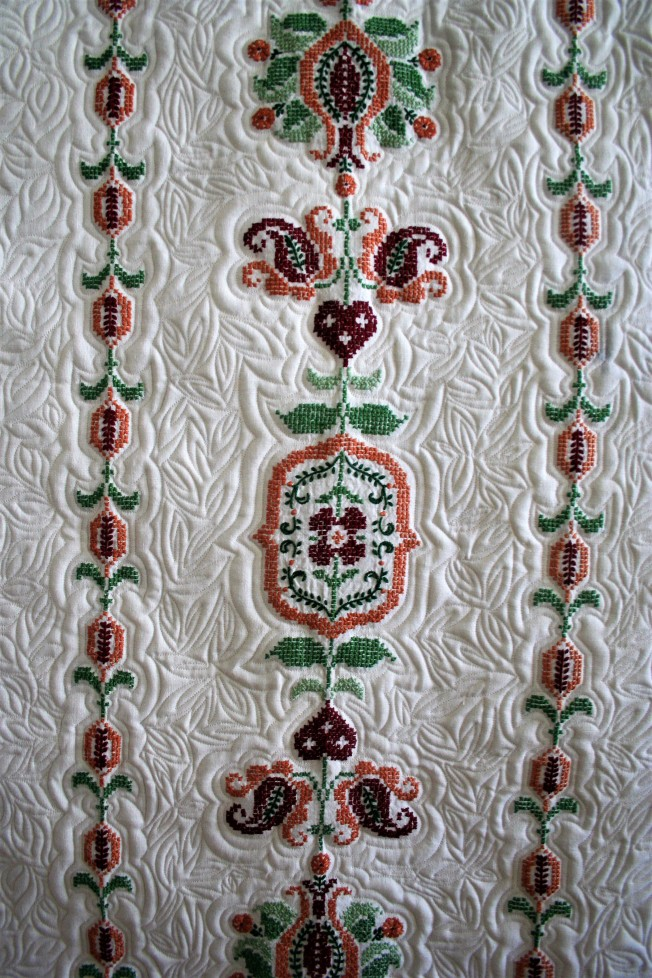 Cross Stitch Table Cloth (close up 3)