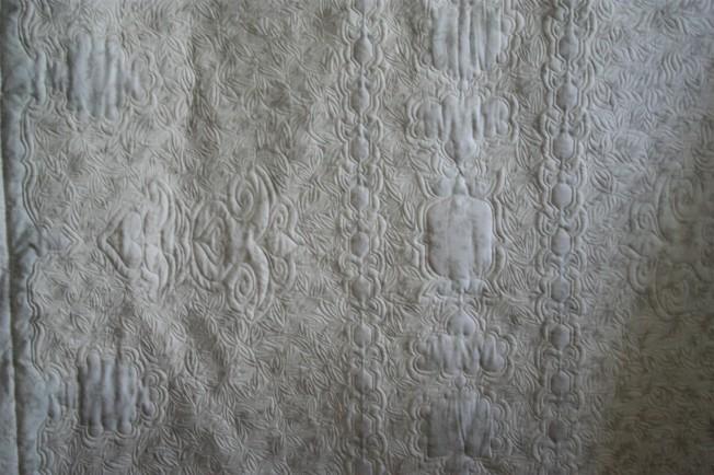 Cross Stitch Tablecloth (back)
