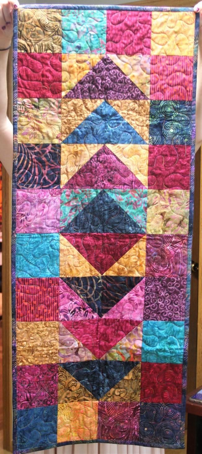 Batik Tablerunner (front)