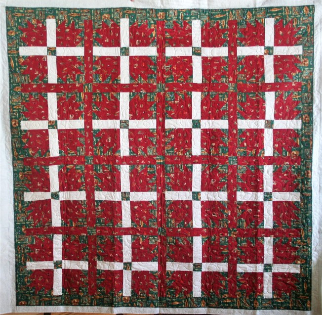 Fish Curtain Quilt (front)