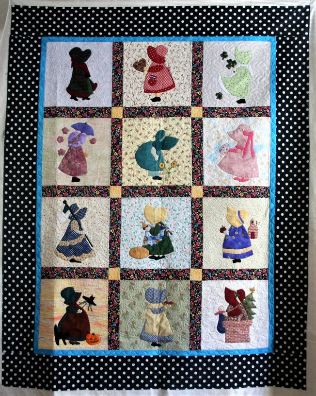 Applique Sunbonnet Sue (front)