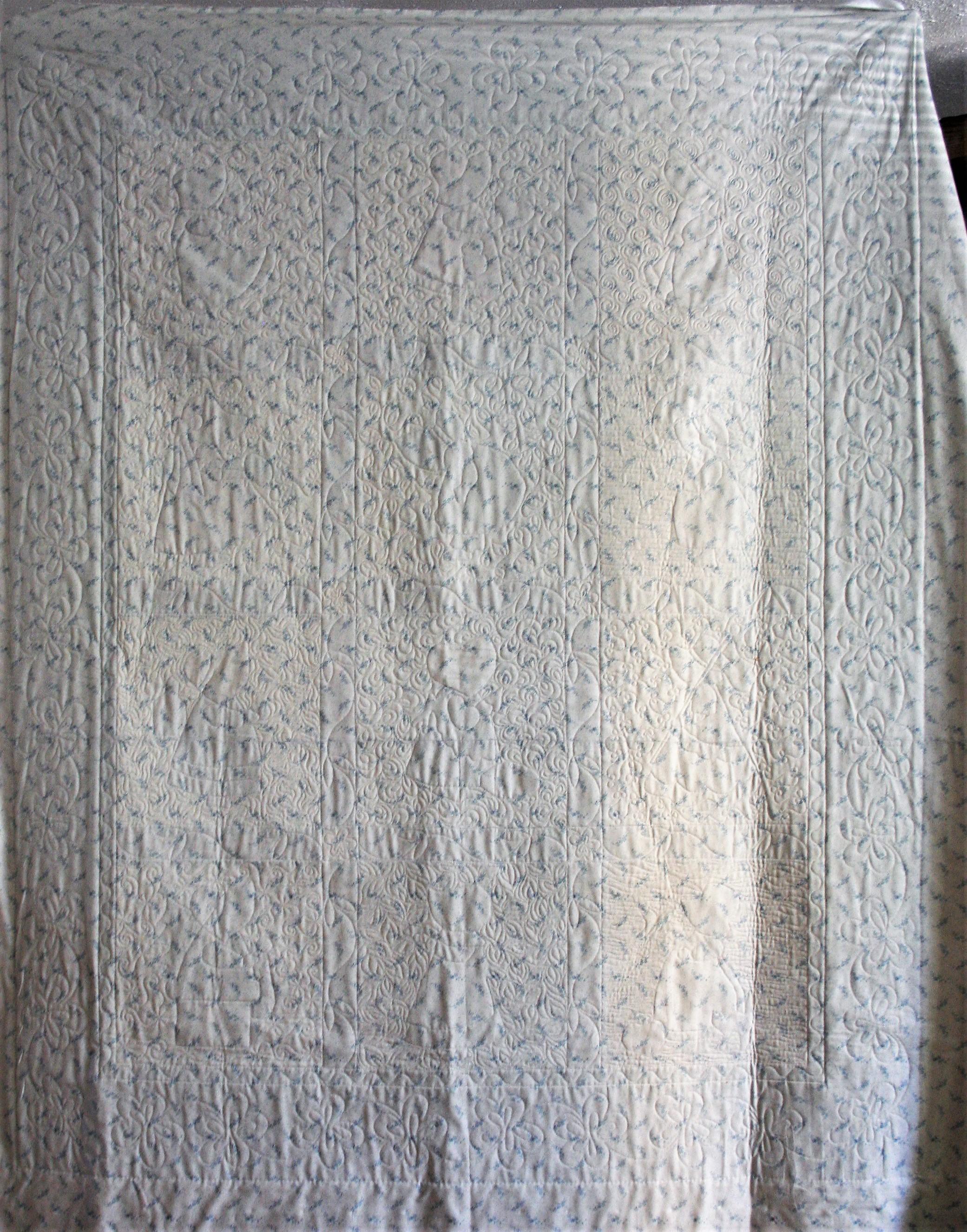 Applique Sunbonnet Sue (back)