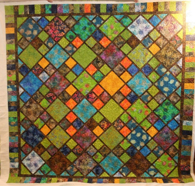 Tropical Turtle Quilt (front)
