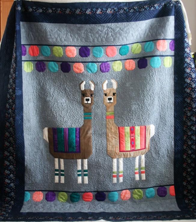 Llama Quilt (front)