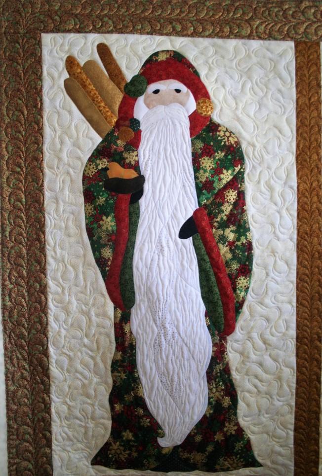Old World Santa (close up 1)