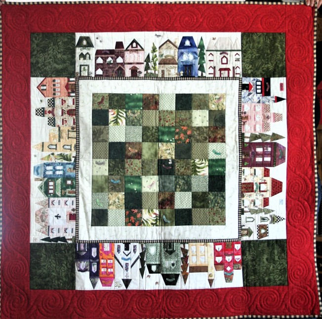 House Quilt Border (front)