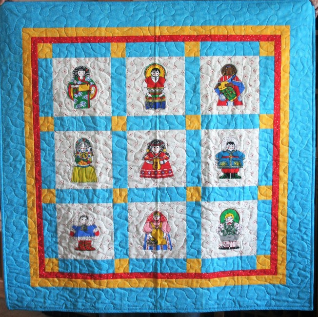 Doll Quilt (front)