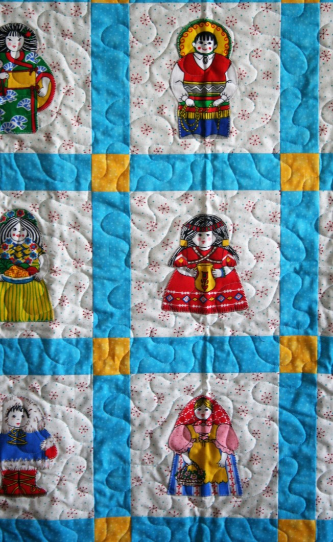 Doll Quilt (close up)