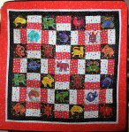 Mola Baby Quilt