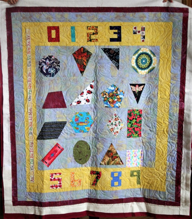 Learning Quilt #2 (front)