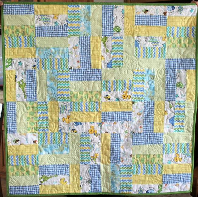 Yellow Flannel Elephants (front)