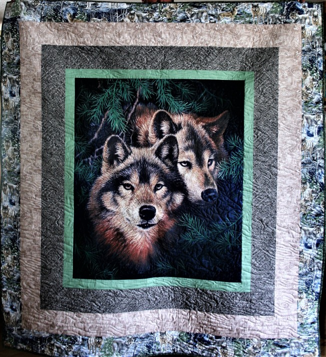 Pair of Wolves (front)