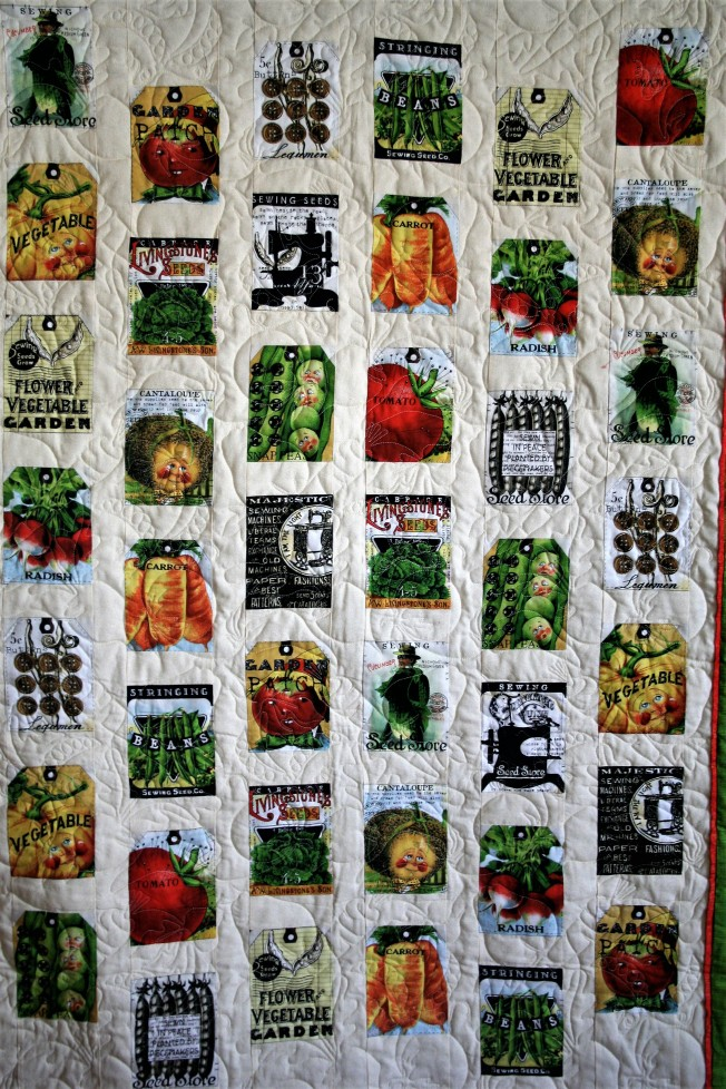 Veggie Quilt (close up 1)