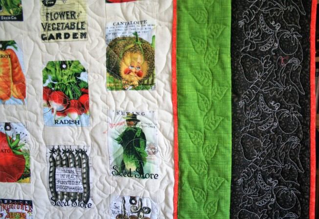 Veggie Quilt (close up 2)