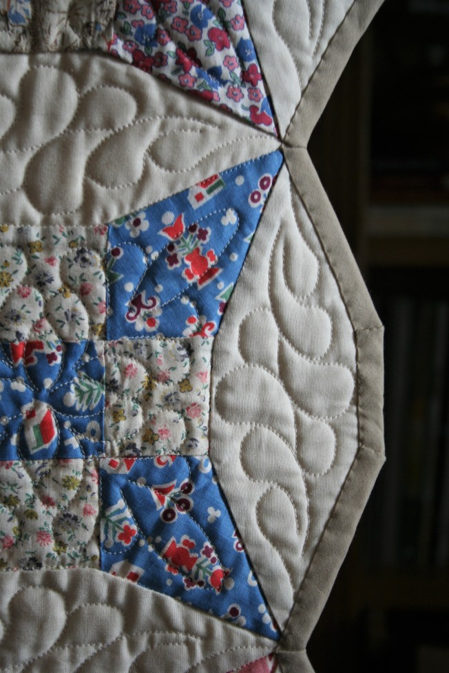 Antique Bed Runner (close up 2)