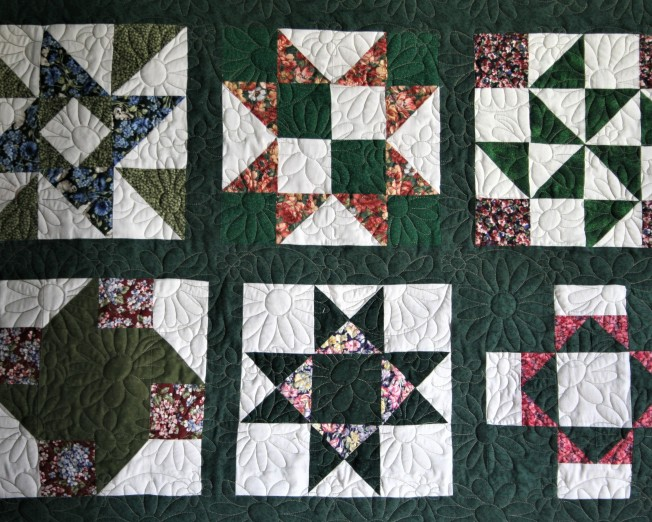 Green Garden Sampler (close up)