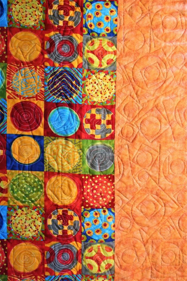 Bright Orange Multi Color (back)