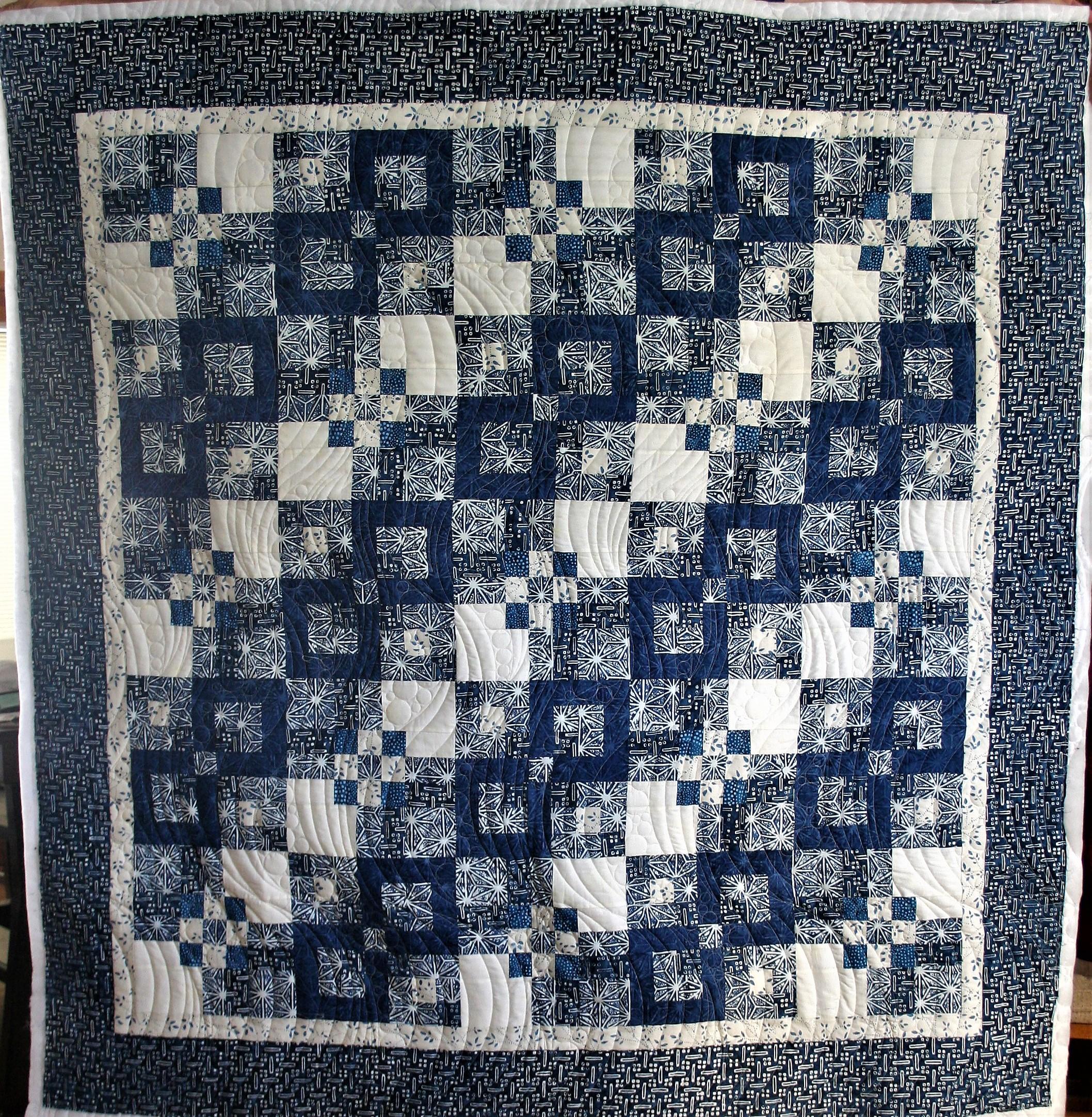 China Blue Batik (front)