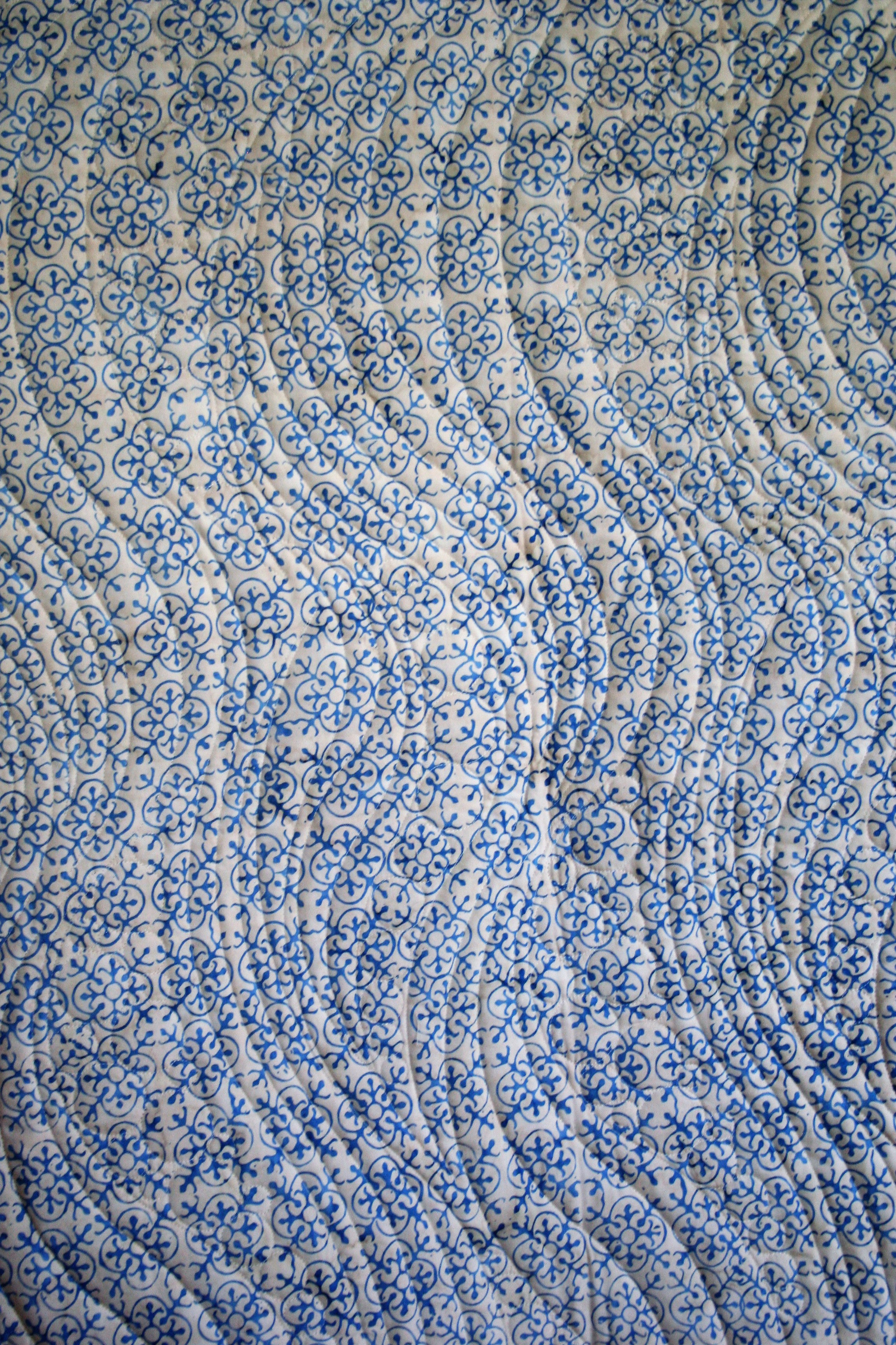 China Blue Batik (back)