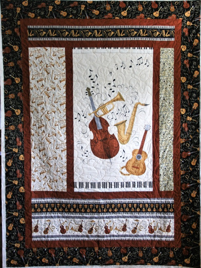 Music Quilt (front)