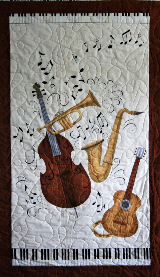 Music Quilt (close up)