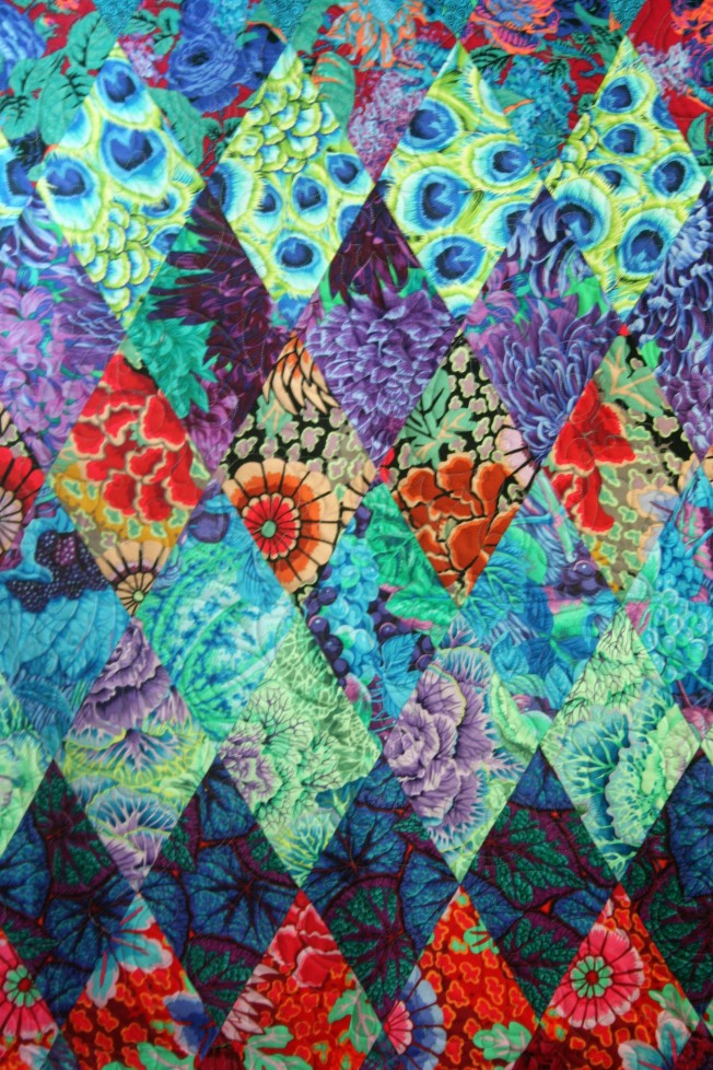 Sweet Shoppe Kaffe Quilt (close up)