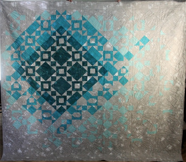 Teal Gradations (front)