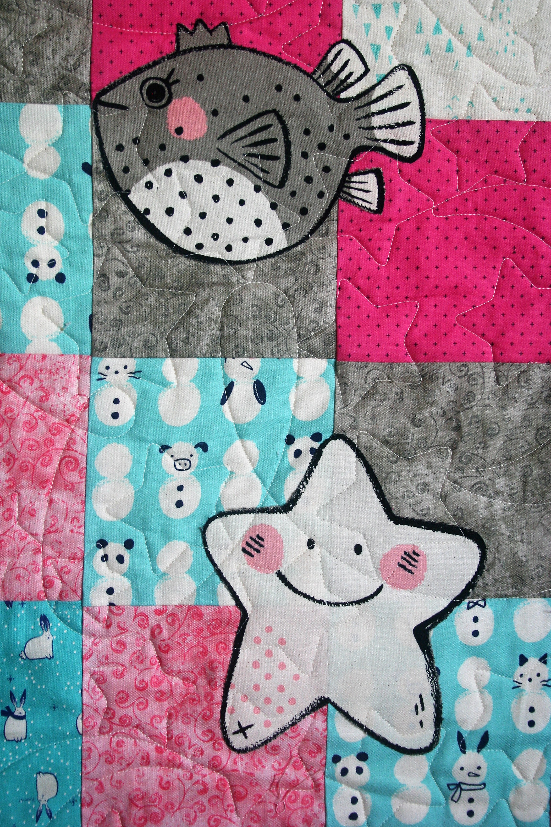 Suki's Quilt (close up 1)