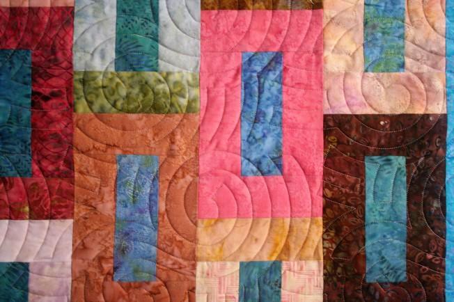 Primitive Blocks and Spirals (close up 1)