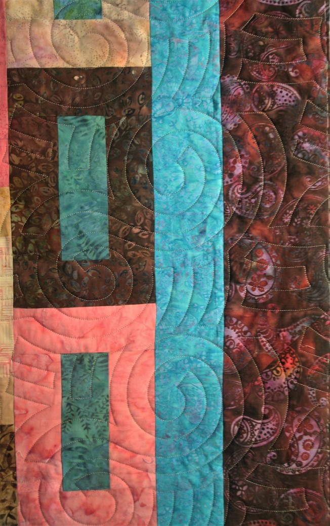 Primitive Blocks and Spirals (close up 2)
