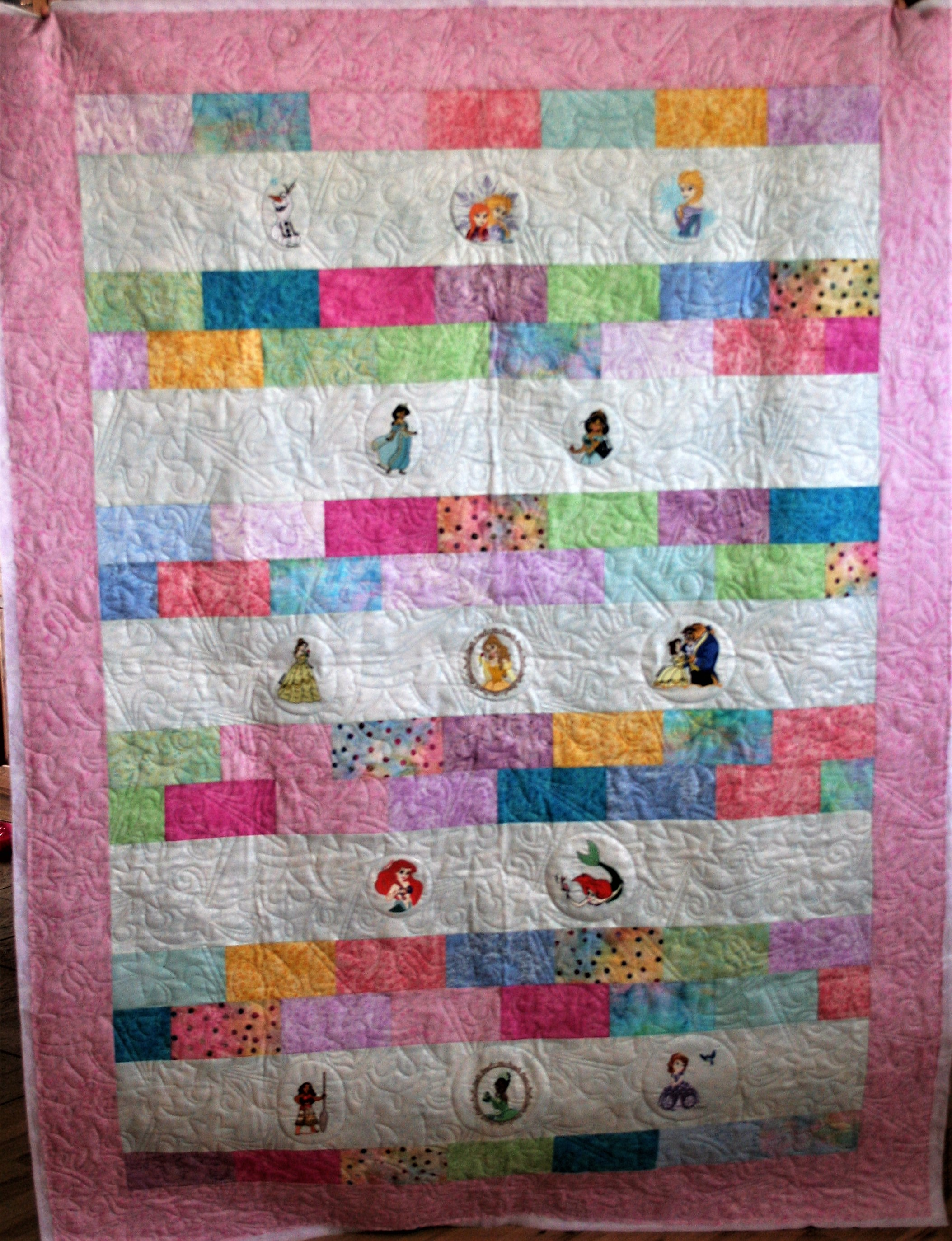 Disney Princess Quilt (front)